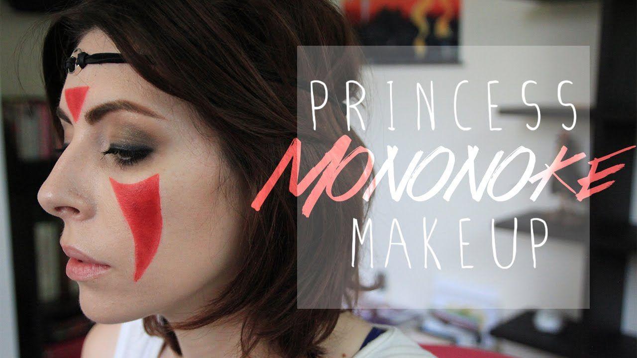 princess mononoke makeup collab w litteteafox. Black Bedroom Furniture Sets. Home Design Ideas