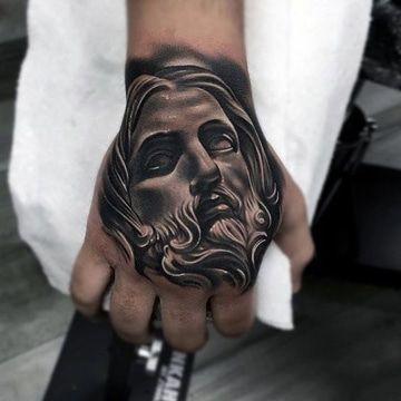 Imagenes De Tatuajes De Cristo En La Mano Y De La Cruz Tatuaje De Cristo Tatuajes Chiquitos Tatuaje De Jesus