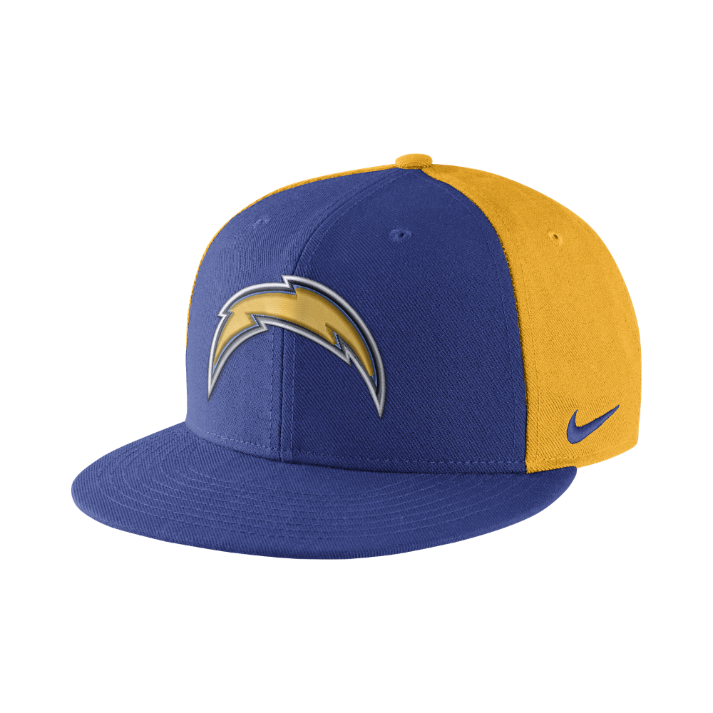 Nike Color Rush True (NFL Chargers) Adjustable Hat (Blue) - Clearance Sale ae543b260