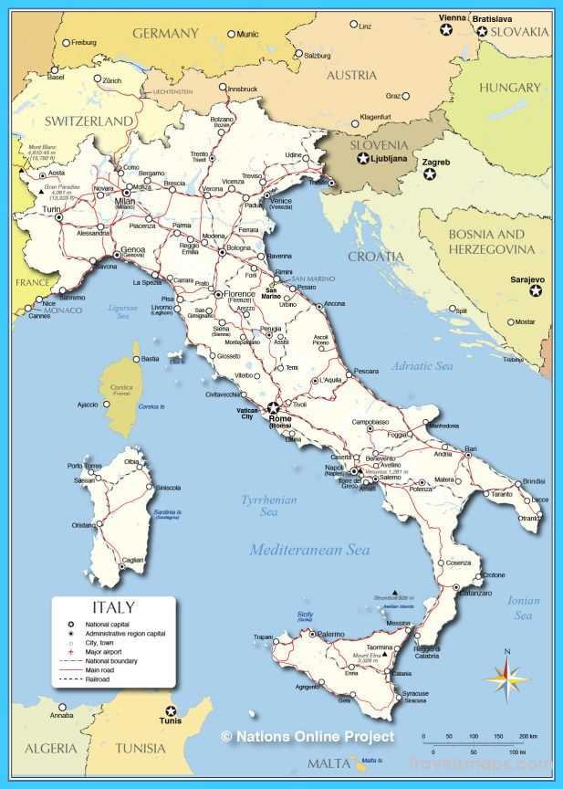 Alessandria Italy Map.Cool Map Of Italy Travelsmaps Italy Map Italy Italy Travel