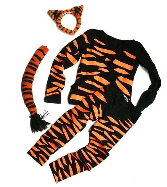 Safari super easy diy zebratiger costume all it takes is a little diy tiger kids costume solutioingenieria Images