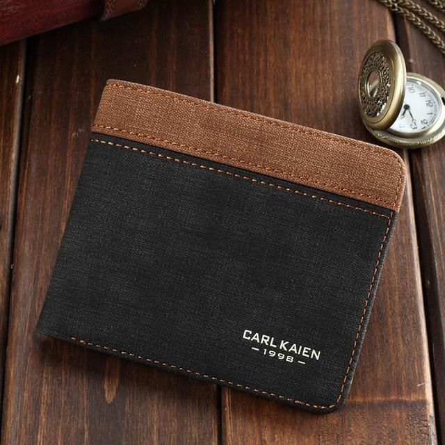 CARL KAIEN Short Canvas Wallet - BagPrime - Look Your Best with Amazing Bags   bags  bag  handbags  totebag  leatherwork  fashion  accessories   backpacking ... 6ff9e78930
