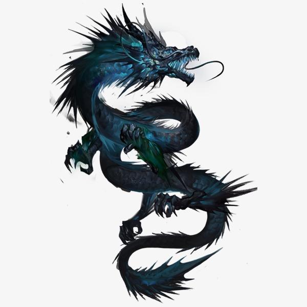 Long Pattern Black Ink Black Dragon Png Transparent Image And Desain Tato Naga Gambar Naga Tato Naga