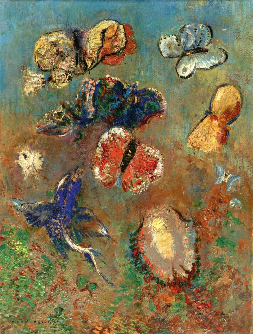 Odilon Redon (French: 1840–1916), [Post-impressionism, Symbolism ...
