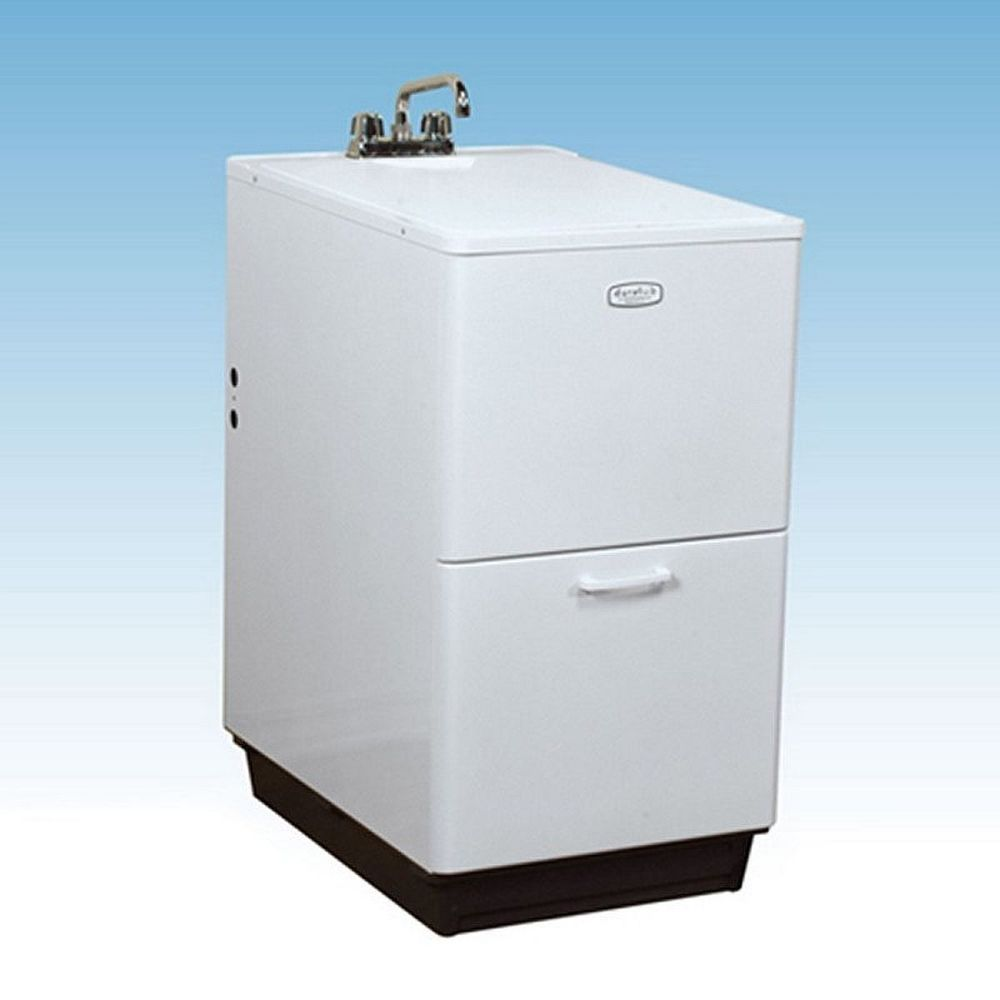 Laundry Sink Cabinet Utility Sink Combo W Free Standing Cabinet Laundry Room  Single Basin U2026 |