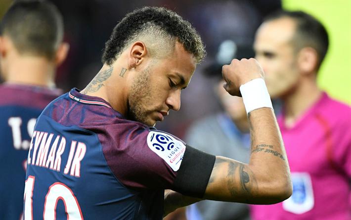 Download Wallpapers Neymar Jr Football Paris Saint Germain