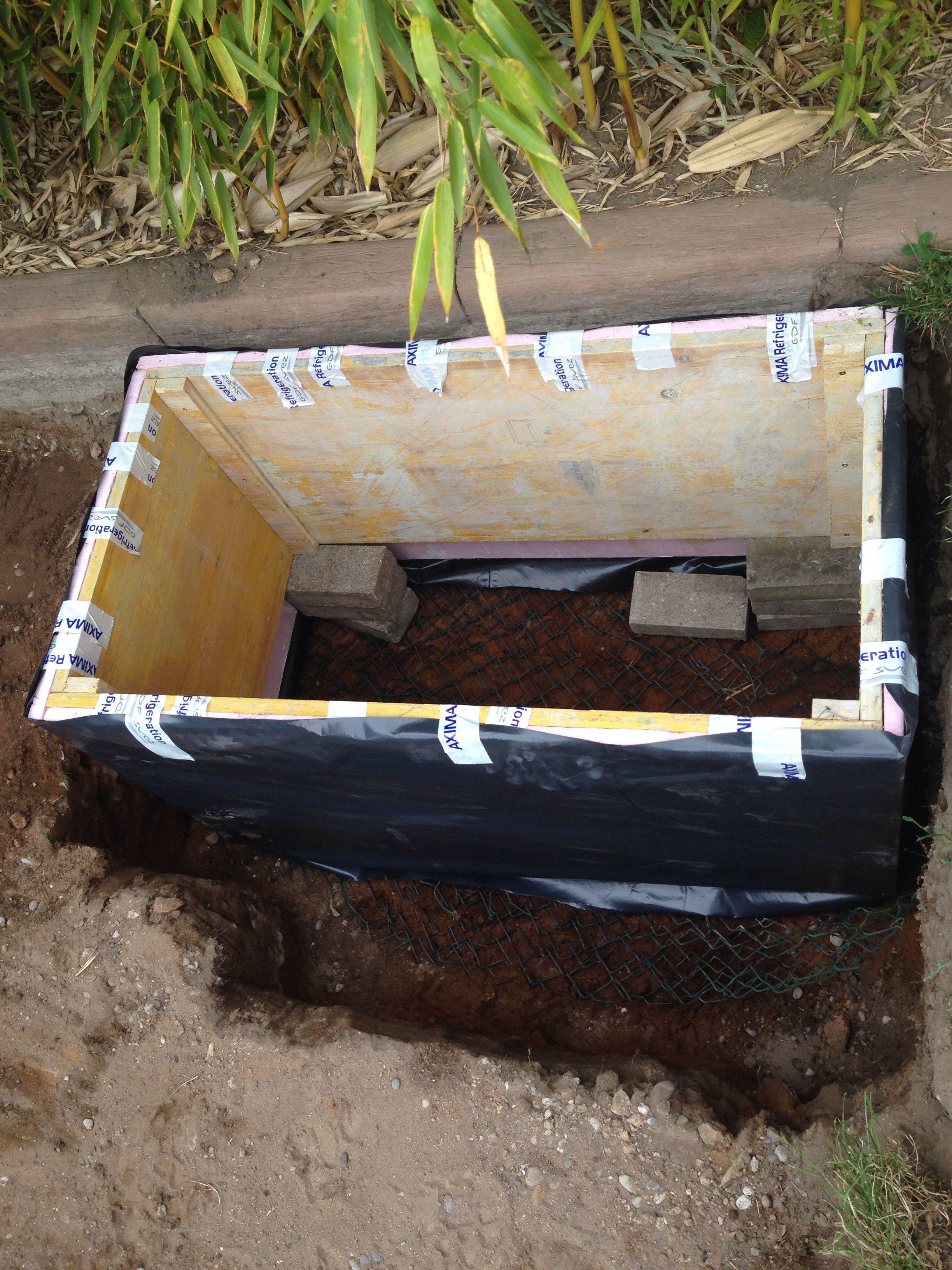 Etape 5 Mise En Place Du Caisson D Hibernation Isole Et Hydrofuge 100 X 50cm Enclos Tortue Tortue Des Steppes Tortue