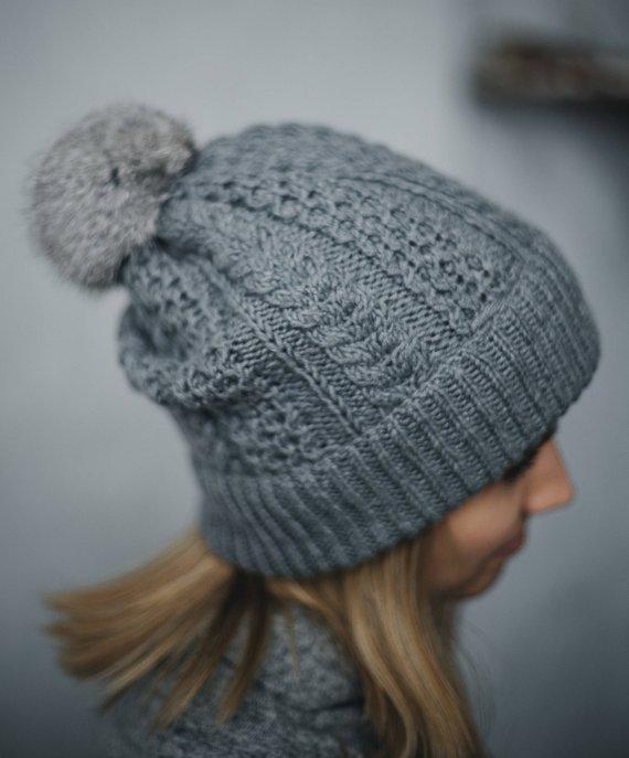 621bda263c2 Grey Beanie Hat