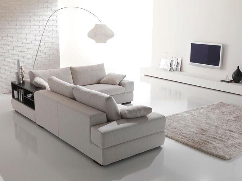 ArredissimA divano angolare con libreria Salotti