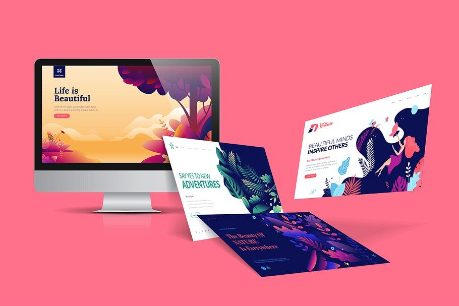 Web Design Template In 2020 Web Design Course Free Web Design Web Design Class