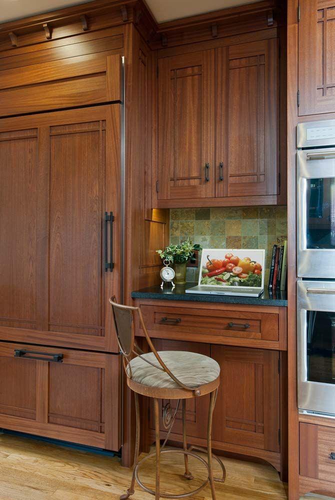Arts Crafts Kitchen With Ellsworth Door