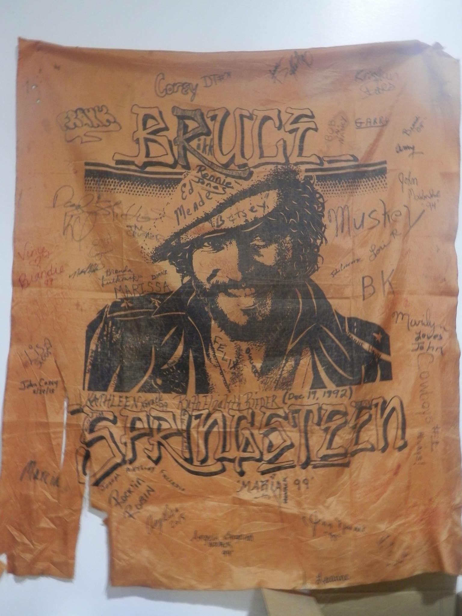Bruce Springsteen @DanFrench