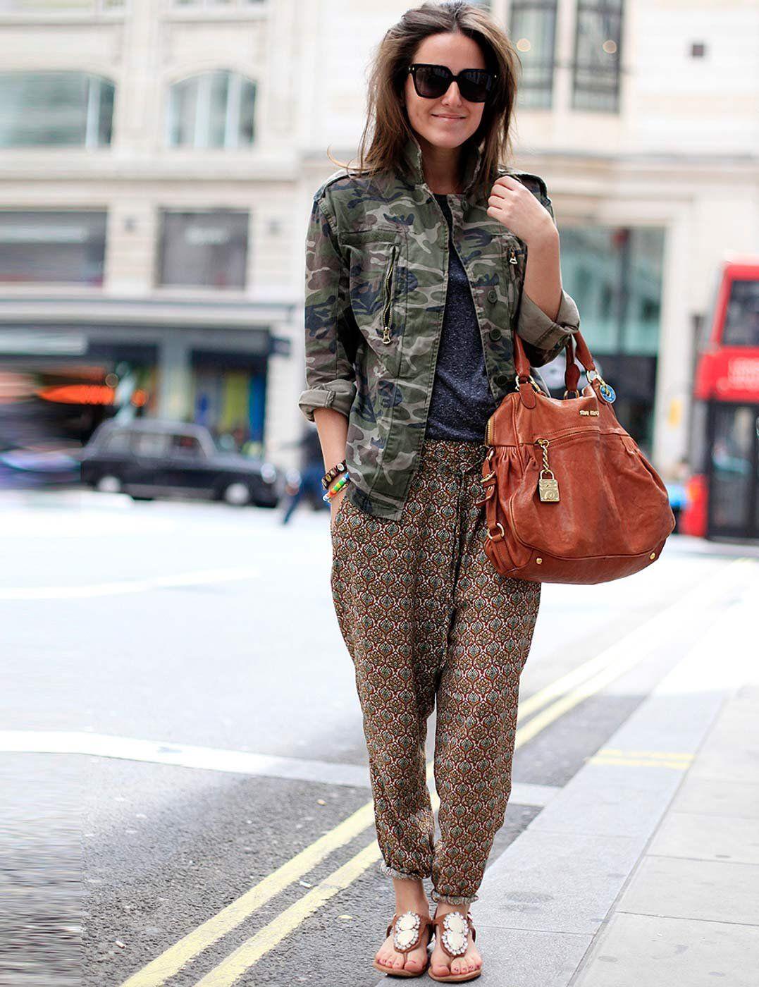 Military Style | Street Style | ELLE UK