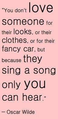 so true....he knows my song by <3