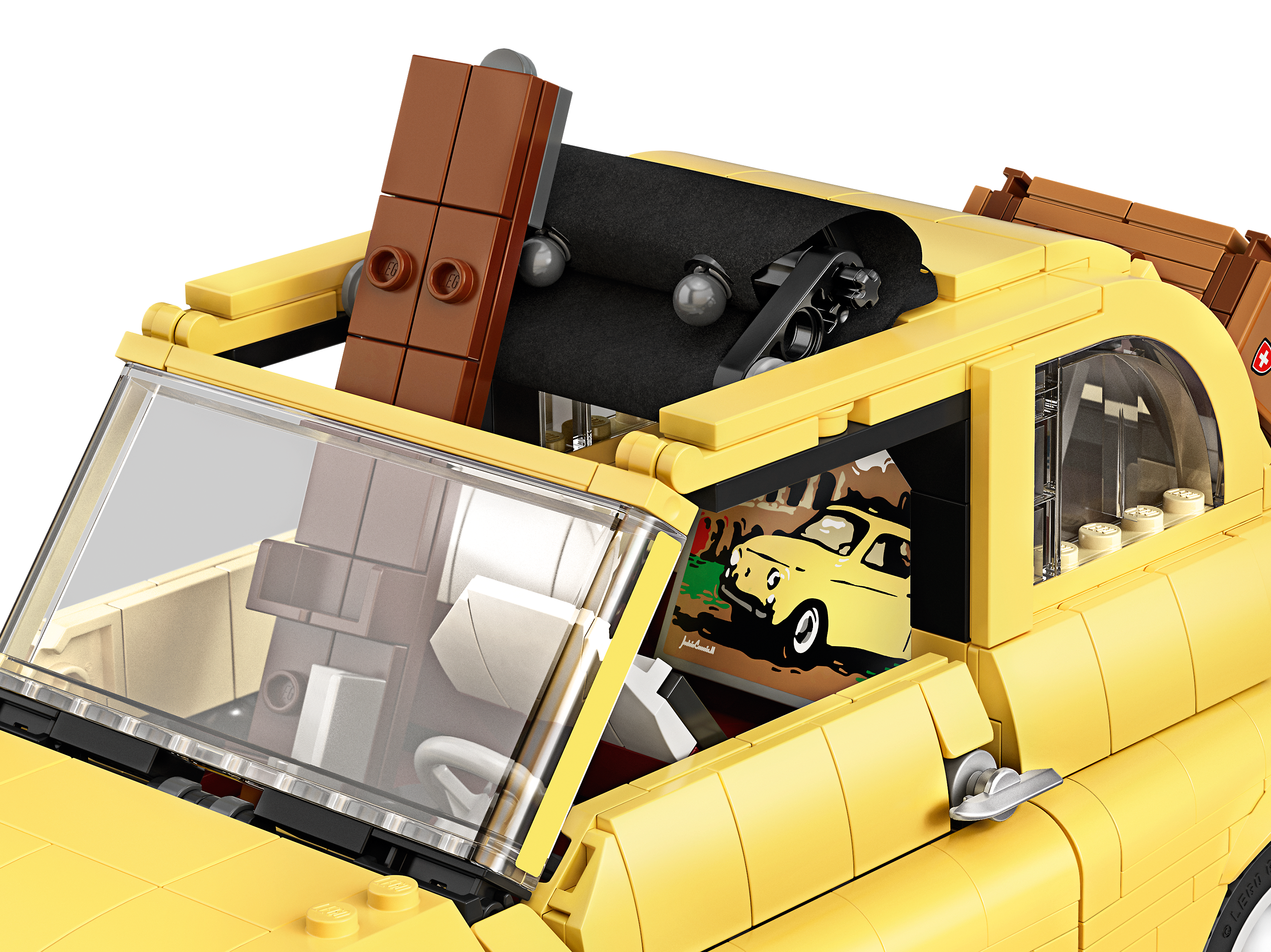 Fiat 500 10271 Creator Expert Buy Online At The Official Lego Shop Us In 2020 Fiat 500 Fiat Lego Cars