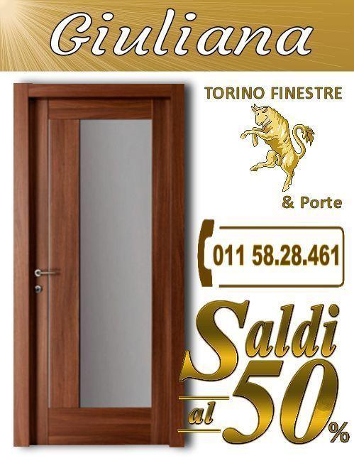 porte interne Giuliana torino   Porte Interne con Vetro Torino ...