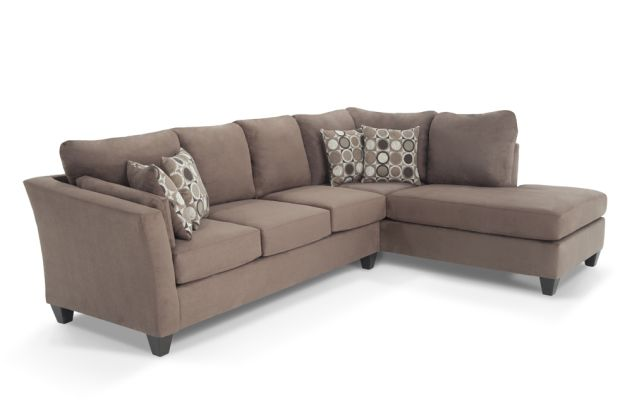 My Bob S Furniture Libre Ii 2 Piece Sofa Bed Sectional 120w X 87
