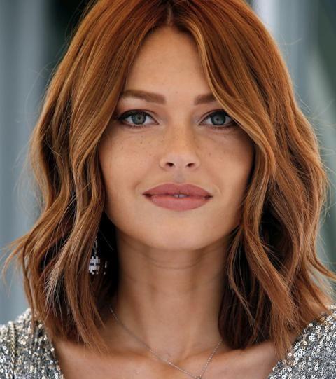 Le roux la couleur tendance du moment Cheveux