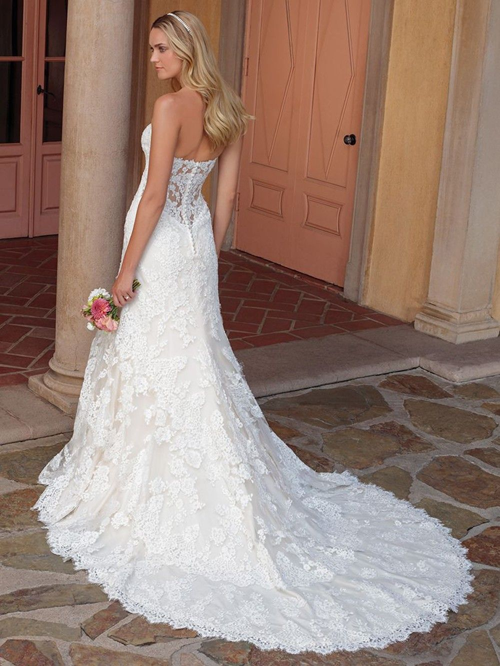Casablanca Bridal 2327 Lacey Dress