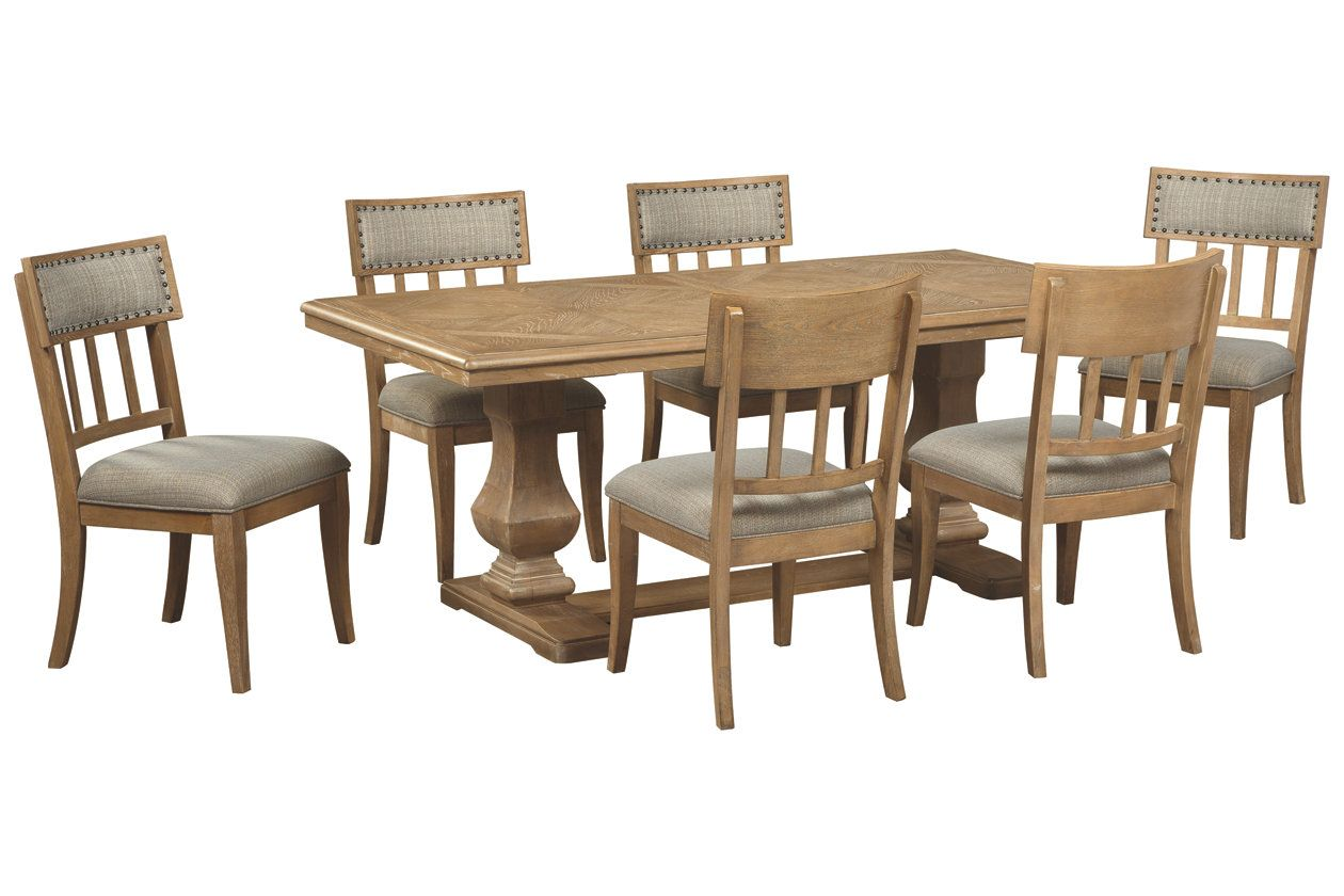 Ollesburg 5 Piece Dining Room Ashley Furniture Homestore Oak Dining Room Set Dining Room Sets Classy Dining Room