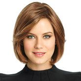 SOFT FOCUS  HUMAN HAIR MONO LACE FRONT WIG  pear shape face