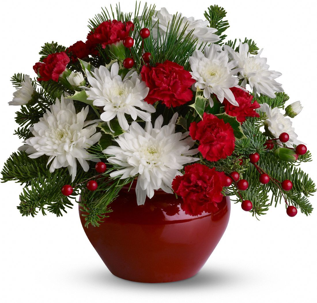 Christmas Treasure bouquet delivered by a florist 29.99