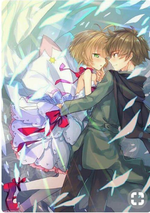 _ Kho Ảnh Anime _ - Ảnh cặp đôi Sakura_Syaoran
