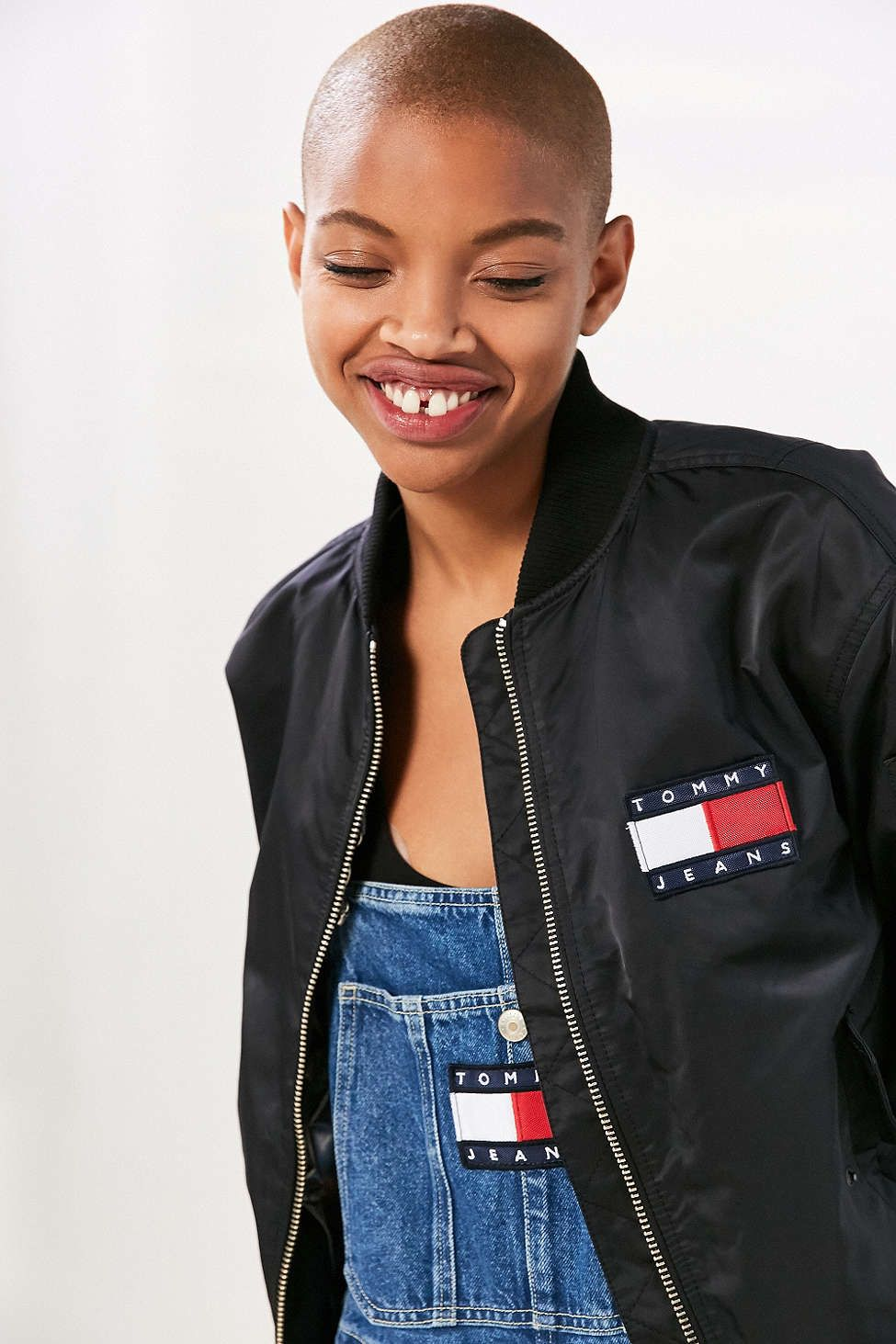 c1ee88c8b702a Tommy Jeans For UO 90s Bomber Jacket - Urban Outfitters | UO ...