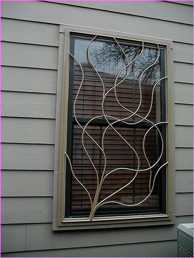 Decorative window security bars lowes design inspiration for Window bars design