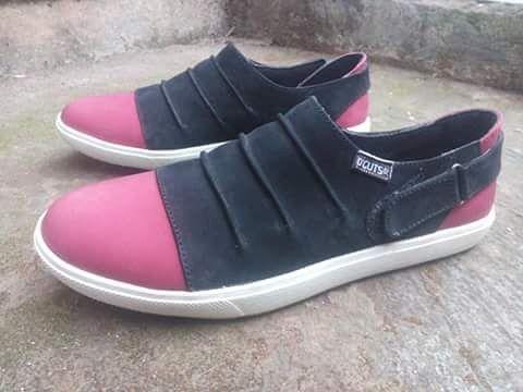 Sepatu Casual Kulit Wanita Nayshila By Smo Pre Order Bbm