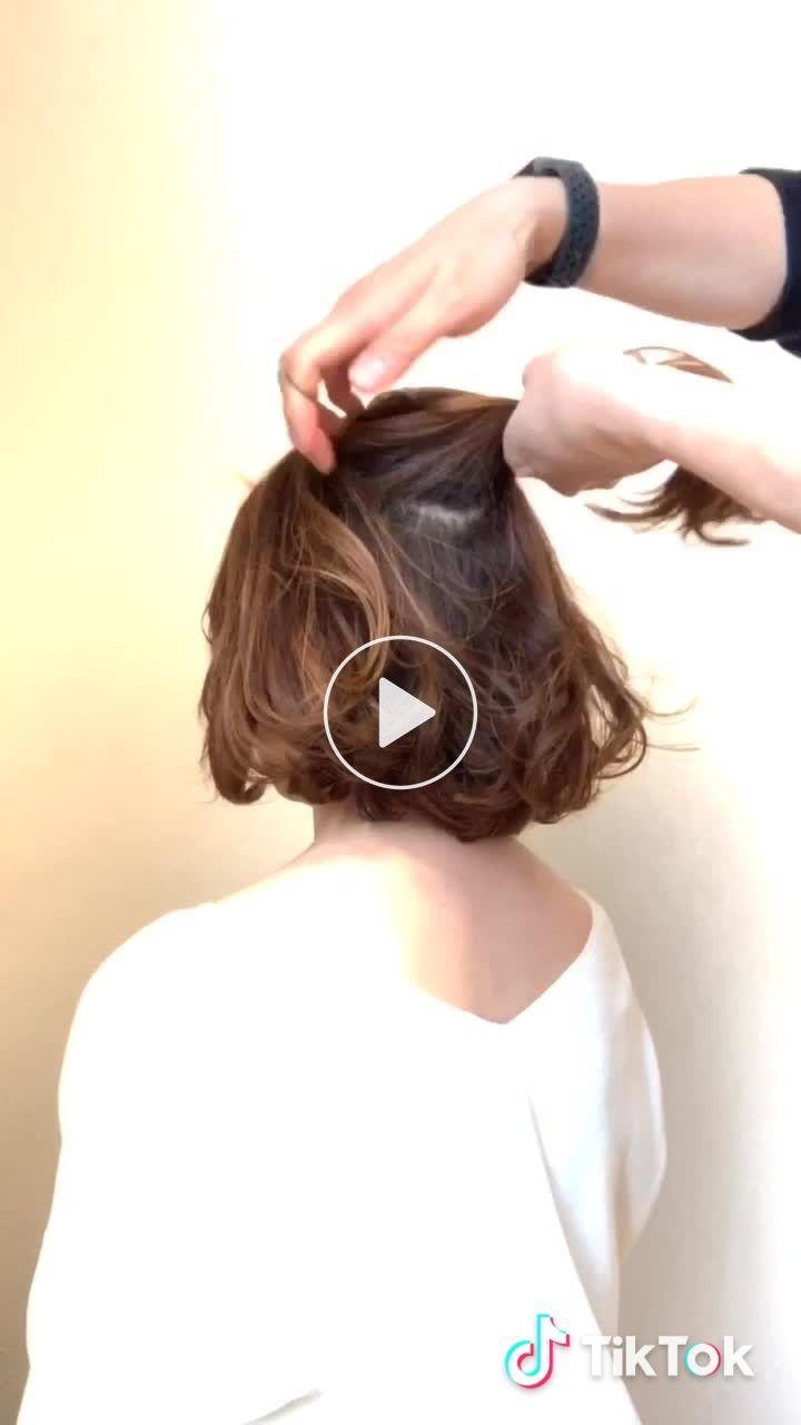 Penteados Bonitos Para Ser Pronto Em Um Minuto - Arte No Papel Online Cuidado - Hair Beauty