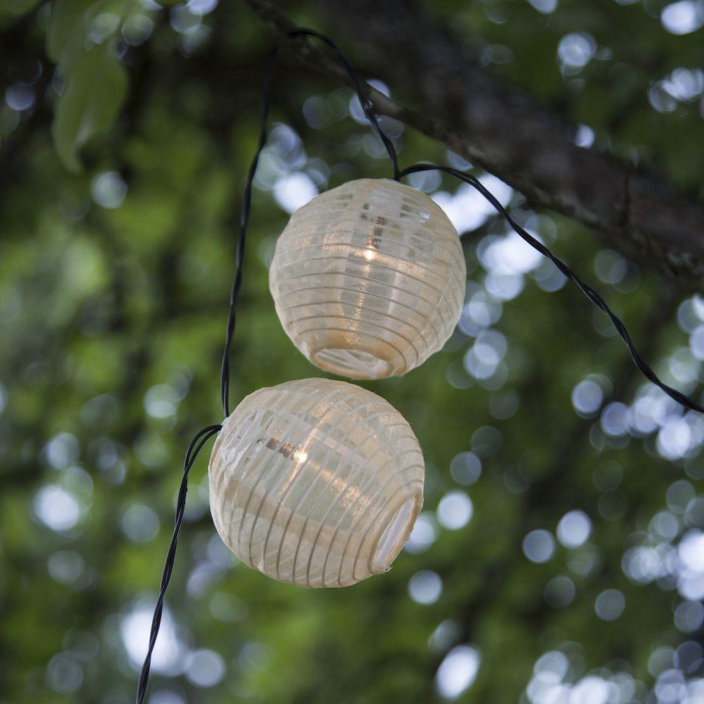 Led Solar Lichterkette In Weiss Click Licht De Garten Gartenleuchte Stehleuchte Blumen Grau Anthraz Solar Lichterkette Solarleuchten Lampen Und Leuchten