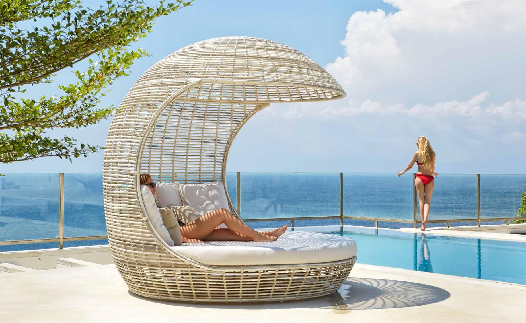 Patio Furniture Muebles De Exterior Camas Confortables Y  # Muebles Deexterior