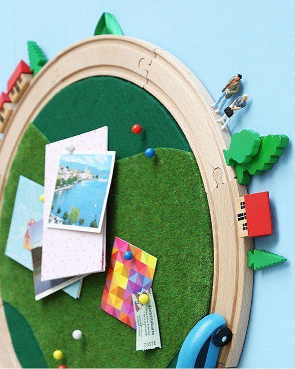 LILLABO Hack: Ein zweites Leben für die IKEA Holzeisenbahn #kinderzimmerdeko