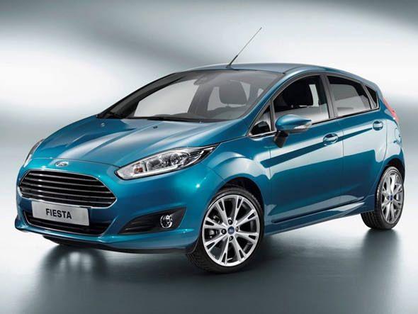 Frente E Lateral Do Novo Ford Fiesta Ford New Fiesta Carros Novos