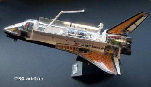 4D Space Shuttle Model
