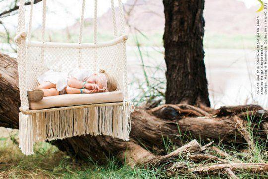 Best Beautiful Handmade Macrame Baby Swings And Hammocks Blue 640 x 480