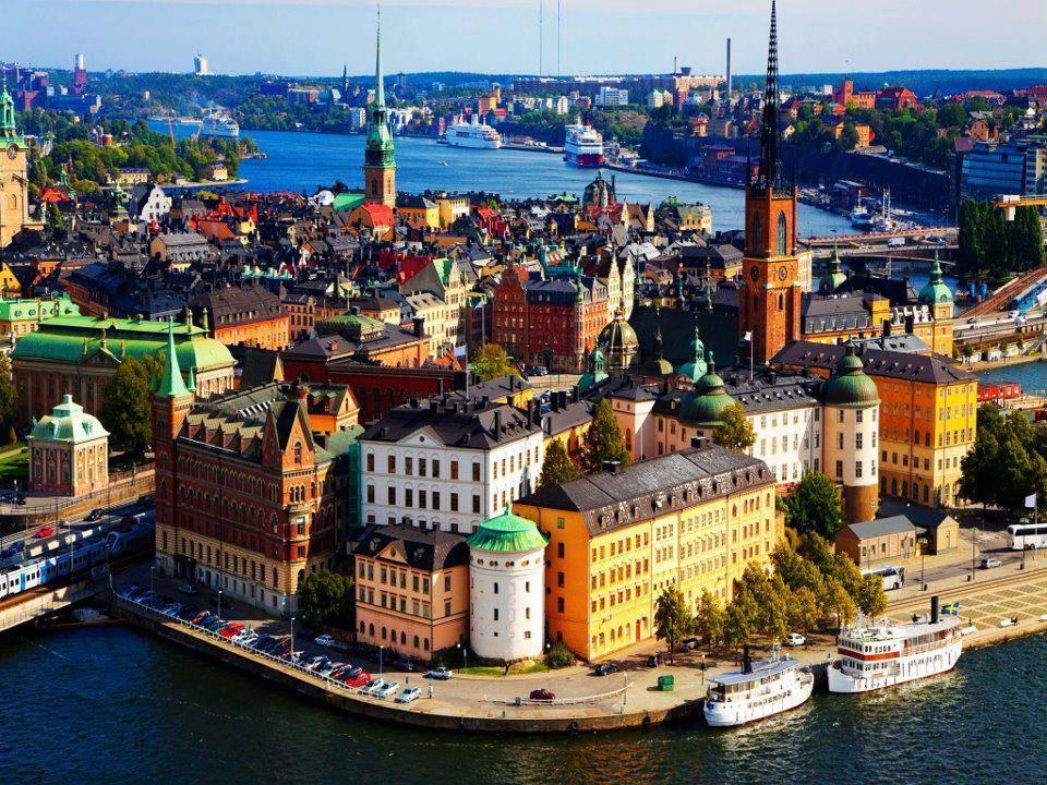 Colorful Stockholm, Sweden