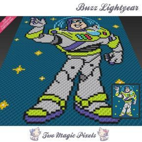 Toy Story Buzz Lightyear C2c Crochet