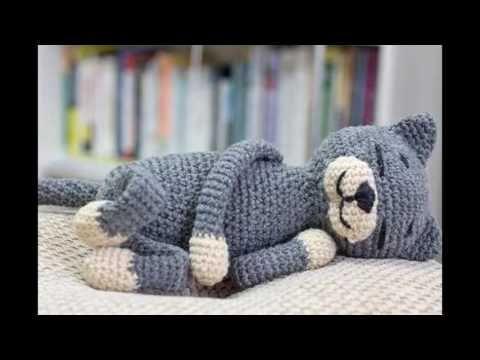 Amigurumi Gato Paso A Paso : Amineko o gatito dormilon youtube amigurumi pinterest