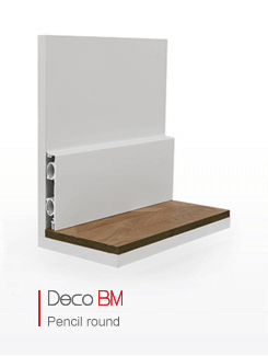 Deco Bm Skirting Heating Board Discreteheat Thermaskirt Baseboard Heating Boxing In Pipes Ideas Home Remodeling