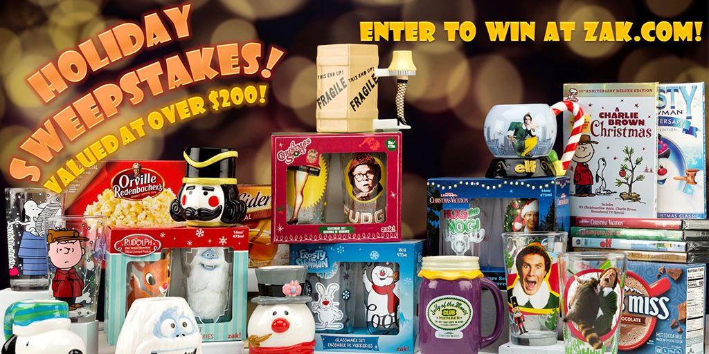 Enter our Holiday Movie Sweepstakes! One lucky fan has the
