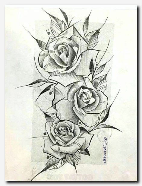 Rock Na Alma Rose Drawing Tattoo