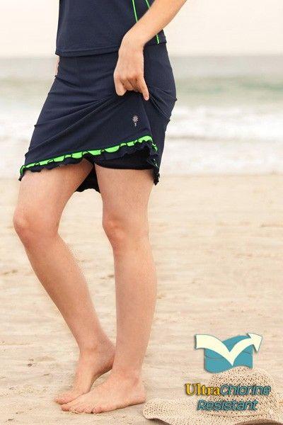 ce6923e58cc Fitness Skirt - 100% Chlorine Resistant - Bottoms - MODEST