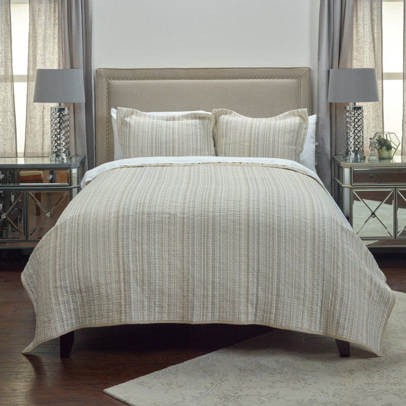 Patrick Matelasse Quilt By Rizzy Home Qltbt4011ivbe1692