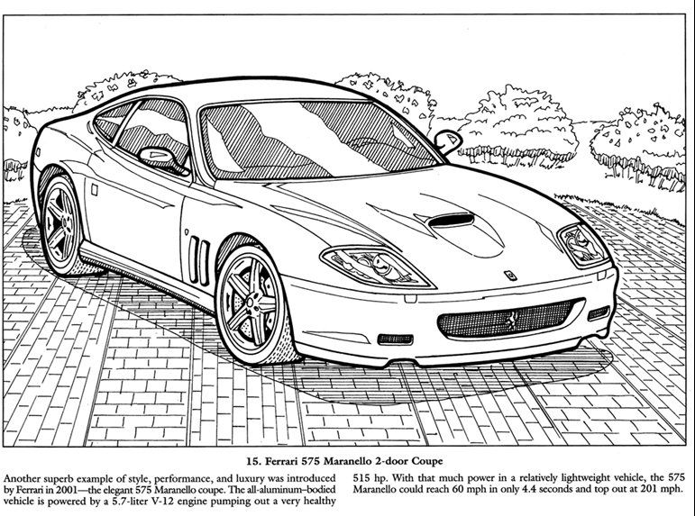 Awesome Old Classic Cars Coloring Pictures And Pages To Print Out - best of coloring pages antique cars