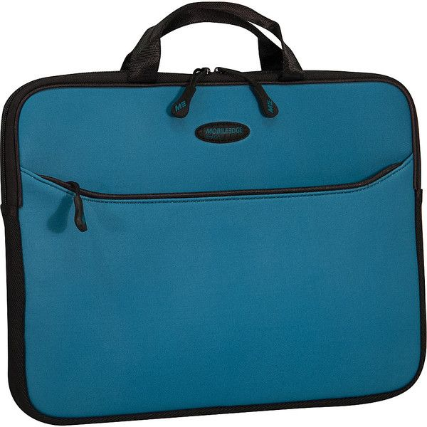 """Mobile Edge Slipsuit - Macbook Sleeve - 13.3"""" ($24) ❤ liked on Polyvore featuring blue"""