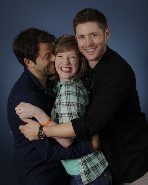 Adorable fan picture | Supernatural convention ...