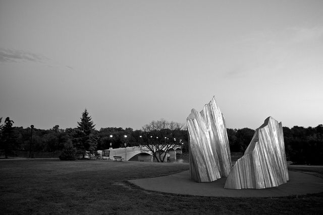 Iceberg Sculpture on Portage Avenue by AJ Batac, via Flickr