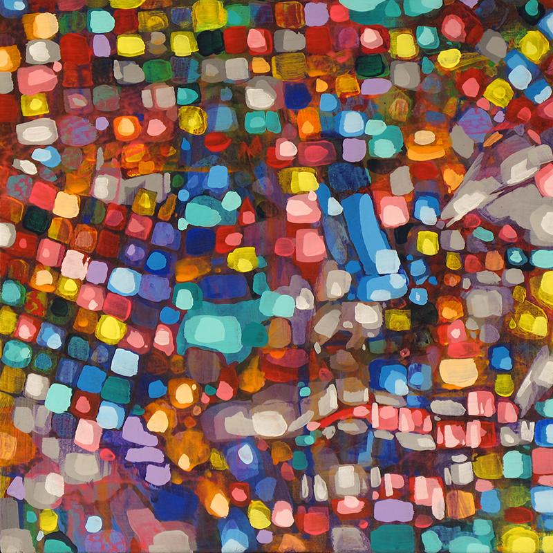 """art from nemobott : cachinnation, 10""""x10"""", abstract"""